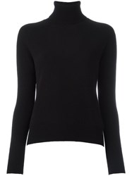 Zanone Turtleneck Jumper Black