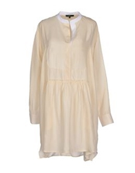 Jejia Short Dresses Beige