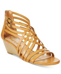 American Rag Mariel Demi Wedge Sandals Only At Macy's Women's Shoes Tan