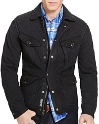 Polo Ralph Lauren Quilted Utility Jacket Polo Black