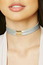 Forever 21 Faux Suede Matchstick Choker