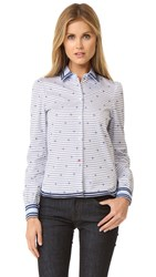 Hilfiger Collection Oxford Shirt Coastal Multi