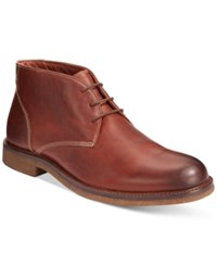 Johnston And Murphy Copeland Chukka Boots Men's Shoes Red Brown