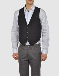 0051 Insight Suits And Jackets Waistcoats Men Steel Grey