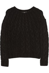 Line Felix Cable Knit Wool Blend Sweater