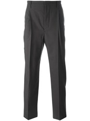 Christophe Lemaire Tailored Trousers Brown