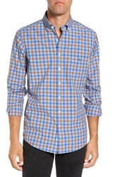 Rodd And Gunn Men's 'Codfish Island' Sports Fit Check Sport Shirtso Did Ochre