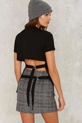 Cheap Monday Row Buckle Top Black