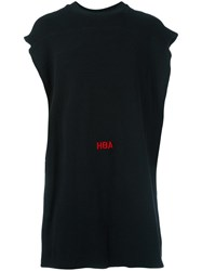 Hood By Air Oversized Tank Top Black