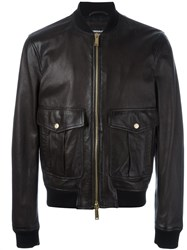 Dsquared2 'Pilot' Bomber Jacket Brown