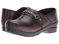 Sanita Original Portland Bordeaux Women's Clog Shoes Burgundy