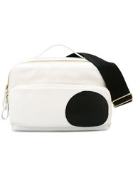 Pierre Hardy 'Reporter' Crossbody Bag White