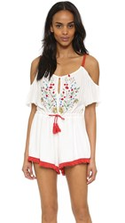 Somedays Lovin Leonie Embroidered Romper Multi