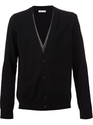 Tomas Maier Layered Cardigan Black