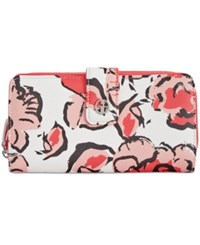 Giani Bernini Floral All In One Wallet Only At Macy's Deep Sea Coral
