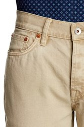Jack Spade Brantley 5 Pocket Canvas Pant Beige