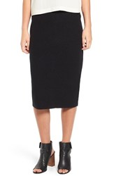 Eileen Fisher Women's Lightweight Boiled Wool Pencil Skirt
