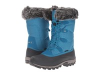 Kamik Momentum Teal Women's Cold Weather Boots Blue