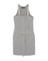 Dek'her Short Dresses Grey