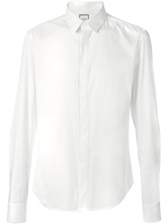 Wooyoungmi Concealed Fastening Shirt White
