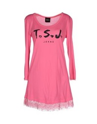 Twin Set Jeans T Shirts Fuchsia