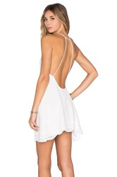 Motel Shade Dress White
