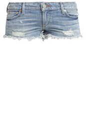 True Religion Joey Denim Shorts Destroyed Denim