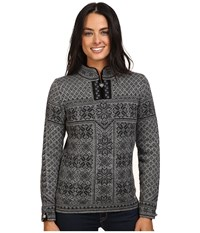 Dale Of Norway Peace Smoke Dark Charcoal Women's Sweater Gray