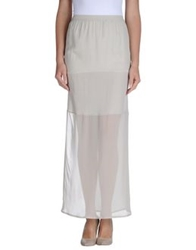 Ilaria Nistri Long Skirts Beige