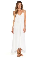 Pink Stitch Resort Maxi White