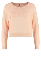 United Colors Of Benetton Jumper Peach Pink