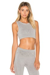 Free People Dark Star Crop Top Grey