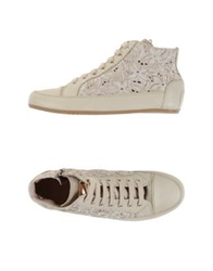 Tosca Blu High Tops And Trainers Beige