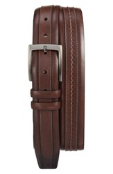 Mezlan Men's 'Naxos' Belt Brown