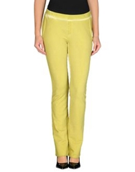 Douuod Casual Pants Acid Green