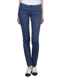 Magazzini Del Sale Trousers Casual Trousers Women Dark Blue