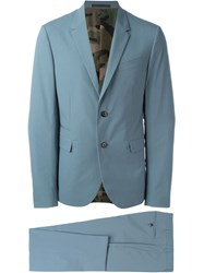 Valentino Two Piece Suit Blue