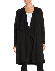 Alternative Apparel Open Front Cardigan Black