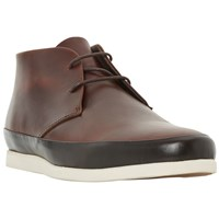 Bertie Curtis Smart Formal Leather Chukka Boots Tan