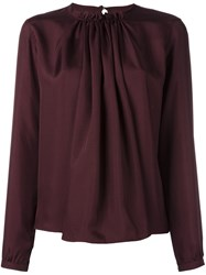 Mcq By Alexander Mcqueen Gathered Neck Blouse