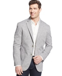 Tasso Elba End On End Linen Sport Coat Grey