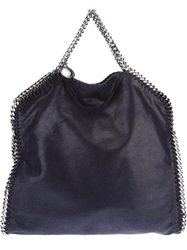Stella Mccartney 'Falabella' Fold Over Tote Blue