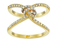 Kate Spade Infinity And Beyond Pave Knot Ring Clear Gold