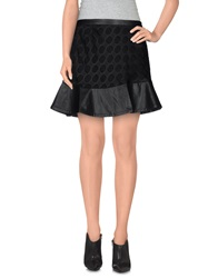 Romeo And Juliet Couture Mini Skirts Black