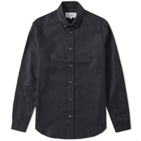 Maison Martin Margiela 14 Button Down Oxford Shirt Black