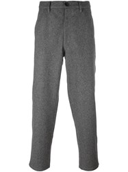 Comme Des Garcons Shirt Boy Loose Fit Trousers Grey