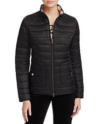 Basler Reversible Quilted Jacket Black