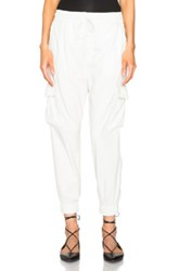 Nsf Johnny Pant In White
