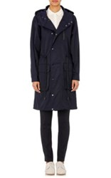 Atm Anthony Thomas Melillo Women's Tech Twill Parka Navy