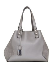 Hallhuber Fabric Mix Shopper Grey